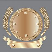vector bronze award