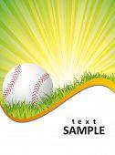 cartaz de beisebol