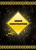 under construction poster