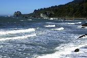 pic of klamath  - False Klamath Cove along the Northern California Coast - JPG