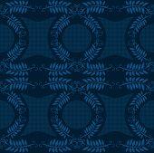 Blue ancient wallpaper