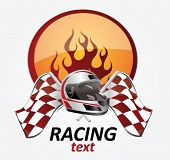 racing sign