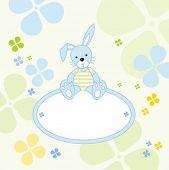 Cute bunny - send a message