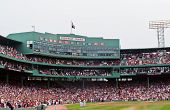 Boston - August 8: The Oldest Mlb Ballpark Currently In Use, Historic Fenway Park, Home Of The Bosto