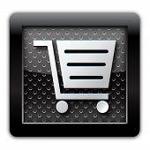 E-commerce metal icon
