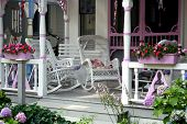 image of martha  - Rocking Chairs on a Martha - JPG