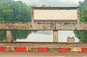 Billboard On Bridge