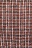 Brown Plaid Textile