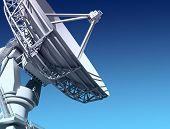 Giant radio telescop