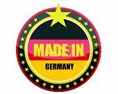 Made in Germany illustration design