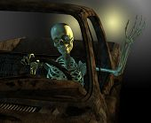 Friendly Skeleton Driver