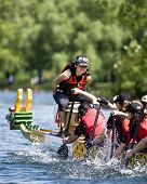 KRG Insurance Brokers Dragon Boat racing