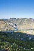 Where Tua River Meet The Douro