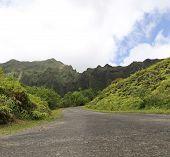 Road And Koolau Mountain Range 2