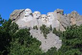 foto of mount rushmore national memorial  - Mount Rushmore National Memorial - JPG