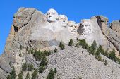 image of mount rushmore national memorial  - Mount Rushmore National Memorial - JPG