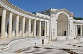 Arlington National Cemetery in Washington DC - Memorial Amphitheater at Tomb of the Unknowns
