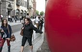 Redball Uk, The Large-scale Public Art Project That Invites You To Look Afresh At Your Own Home, Cam