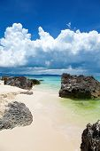 Exotic Beach In Boracay