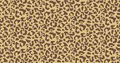 Leopard Or Jaguar Print Seamless Pattern, Textured Fashion Print, Abstract Safari Background For Fab poster