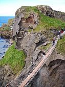 Carrick-a-rede Rope Bridge, Co., Antrim, Northern Ireland