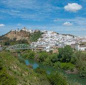 Panorama de Arcos De La Frontera, Andalucía, España