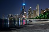 Skyline von Chicago.