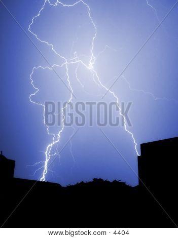 poster of City Lightning Strike