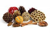 Christmas Pot Pourri Decoration