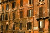 Ancient Building in Rome - Vintage