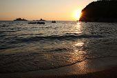Summer Beach Sunset