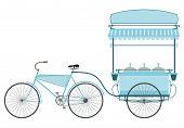 The ice cream bike.