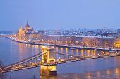 vista da cidade de Budapeste, Hungria