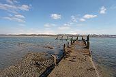 Caernarfon From The Menai Strait