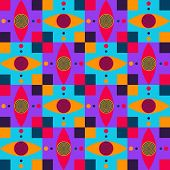 picture of dizziness  - This is dizzy eyes pattern vector stock - JPG
