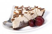 moka ice cream cake