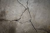 Cracked Cement Floor