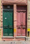Colorful Doors Of La Boca
