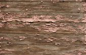 The Background From Old Painted Planks