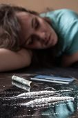 Woman And Cocaine