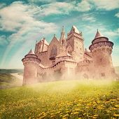 Fairy tale princess castle  from dreams