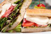 Sabroso sándwich