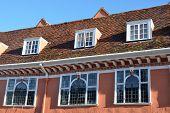 Row of Tudor Windows