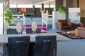 Showroom Of Modern Luxury Furniture Store