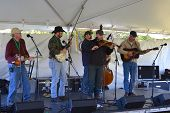 Musicians at the Blue Ridge Folklife Festival
