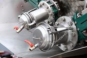 Details Of New Sewage Truck Equipment, Industry Valves