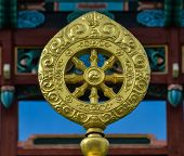 Dharmacakra Or The Wheel Of The Life