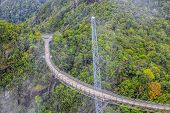 picture of langkawi  - The landscape of Langkawi seen from Cable Car viewpoint - JPG
