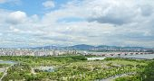 View Of Seoul City In Korea