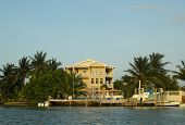 Waterfront hotel in Caye Caulker, Belize